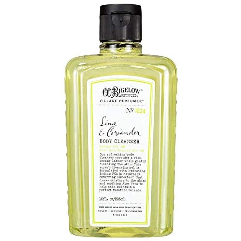 手首哲学拍手する[C.O. Bigelow] C.O.ビゲローライムとコリアンダーボディクレンザー - C.O. Bigelow Lime and Coriander Body Cleanser [並行輸入品]