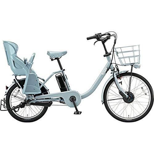 ブリヂストン 電動自転車 ビッケモブdd BM0B49 E.XBKブルーグレー E.XBKブルーグレー