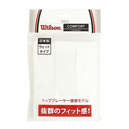Wilson(ウイルソン) グリップ PRO OVERGRIP (プロ オーバーグリップ) WHITE 3PK 3個入り WRZ4020WH