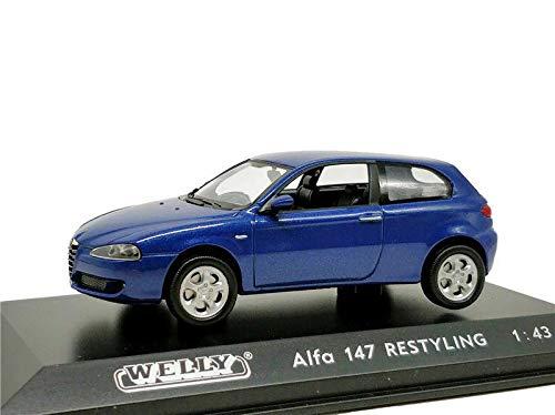 ウィリー 1/43 アルファ ロメオ 147 Welly 1/43 Alfa 147 Restyling レース スポーツカー ダイキャストカー Diecast Model ミニカー