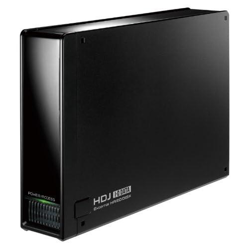 I-O DATA 静音冷却ファン搭載(電源内蔵)USB接続外付ハードディスク 2.0TB HDE-U2.0J [フラストレーションフリーパッケージ(FFP)]