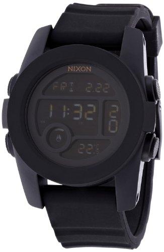 [ニクソン]NIXON UNIT 40: ALL BLACK NA490001-00 レディース 【正規輸入品】
