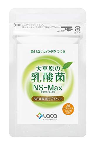 大草原の乳酸菌 36カプセル(18日分)