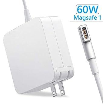 Macbook Pro 電源アダプタ 60W Vanstarry【PSE認証】MagSafe l型 充電器 16.5V-3.65A Mac 互換電源アダプタ L字コネクタ Macbook Air/Pro 13 インチおよび(2012 中期前のモデル)