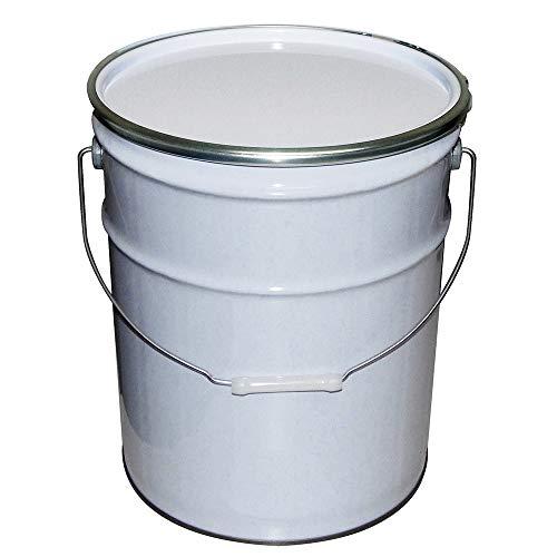 ガレージ・ゼロ 無地 ペール缶 20L 白/白ペール/オープン(フタタイプ)/空缶/TFS(ティンフリースチール)/GZKN37
