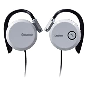 Logitec Bluetooth対応ワイヤレスヘッドフォン(ホワイト) LBT-HP110C2WH