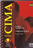 Cima Paper 3c - Stage 1: Business Mathematics (Fbsm): Passcards (2001): Exam Dates - 05-01, 11-01 (Cima Passcards)