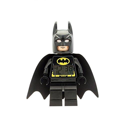LEGO Kids ' 9005718DC Super Heroes Batman mini-figure Light Up Alarmクロック