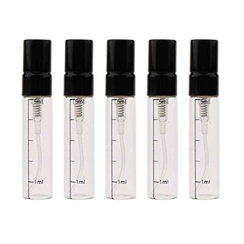 滝満足させる仮装香水瓶 スプレー ガラス エッセンシャルオイル ボトル 香水 精油 詰替え容器 3色選べ - ゴールド
