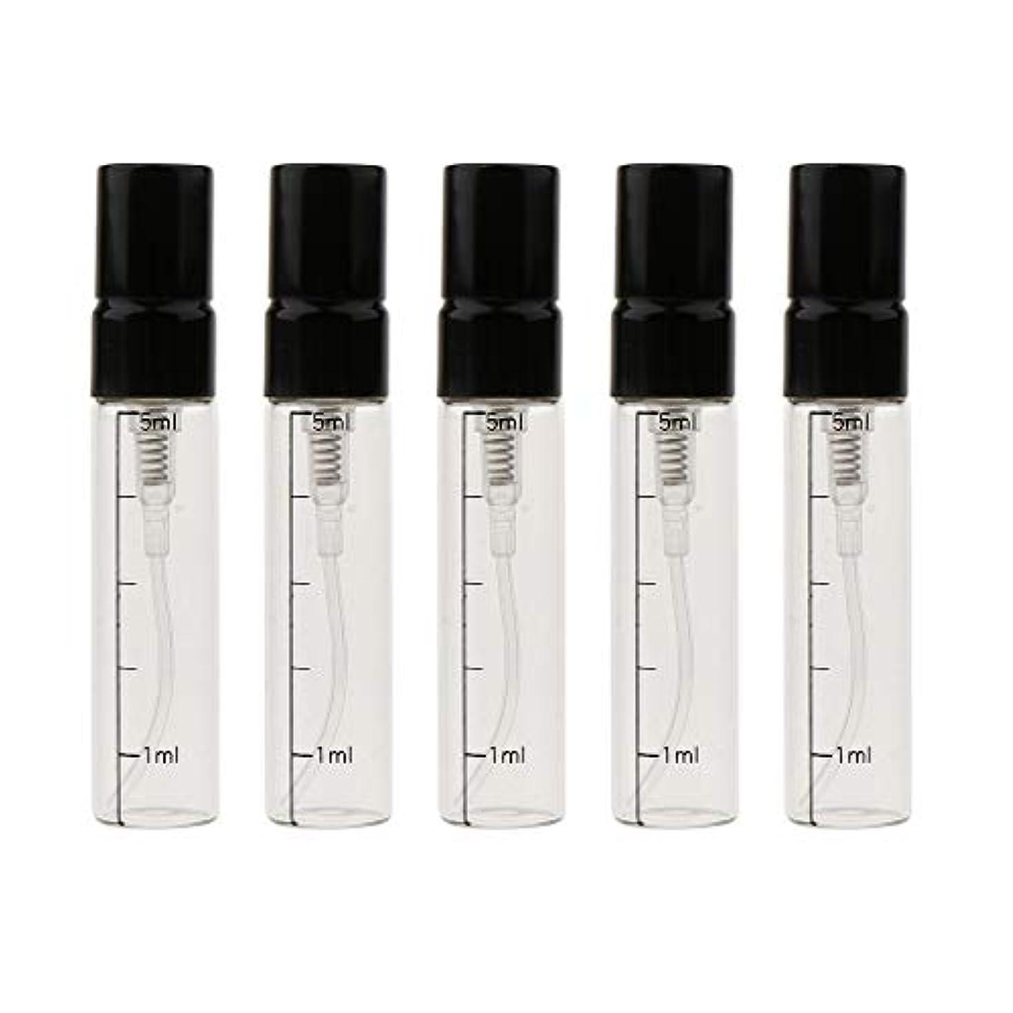 実行戦うウィザード香水瓶 スプレー ガラス エッセンシャルオイル ボトル 香水 精油 詰替え容器 3色選べ - ゴールド