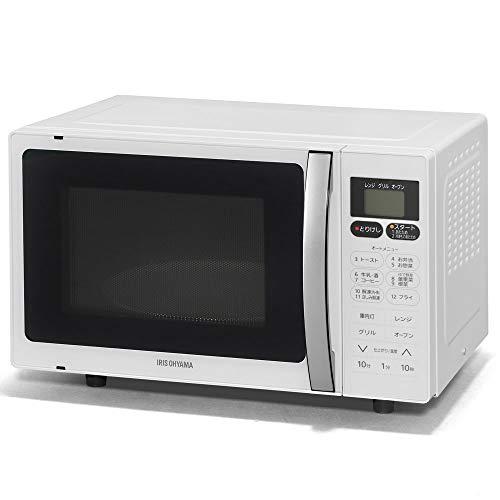 アイリスオーヤマ オーブンレンジ 16L インバーター式 ホワイト MO-T1603 B07QY1TSFT 1枚目