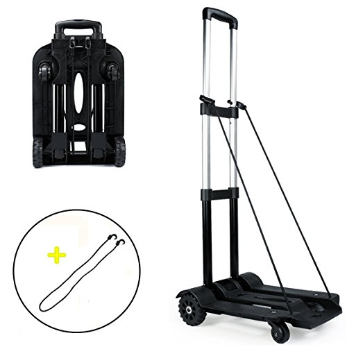 clara lapis コンパクト キャリーカート 折りたたみ式 ハンドキャリー 荷重量55キロ 軽量 簡易 静音 買い物 荷物運び
