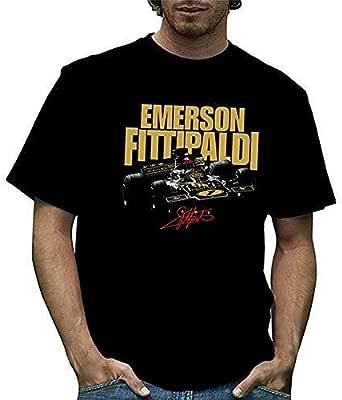 T72 Emerson Fittipaldi Mens T-shirts エマーソン・フィッティパルディ ロータス72 Tシャツ