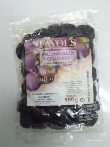 ファヴォルス セミドライ プラム種なし500g