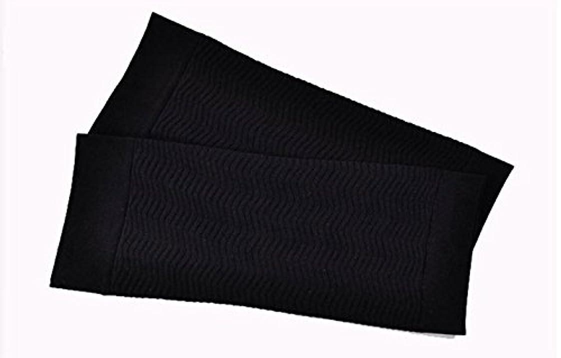 明快通知する検体Rose 二の腕 ふくらはぎ サポーター シェイプアップ ふくらはぎサポーター ゴルフサポーター 二の腕 シェイパー 加圧サポーター 二の腕 天使の休足 腕パン 引きしめ UV対策 ふくらはぎ むくみ 対策 (黒)