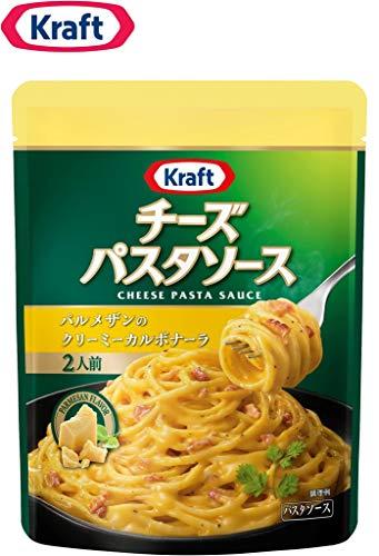 クラフト (Kraft) チーズパスタソース パルメザンのクリーミーカルボナーラ ×3袋