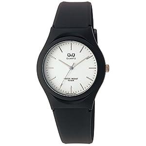 [シチズン キューアンドキュー]CITIZEN Q&Q 腕時計 アナログ 10気圧防水 ウレタンバンド 逆輸入 海外モデル ホワイト VQ86J003