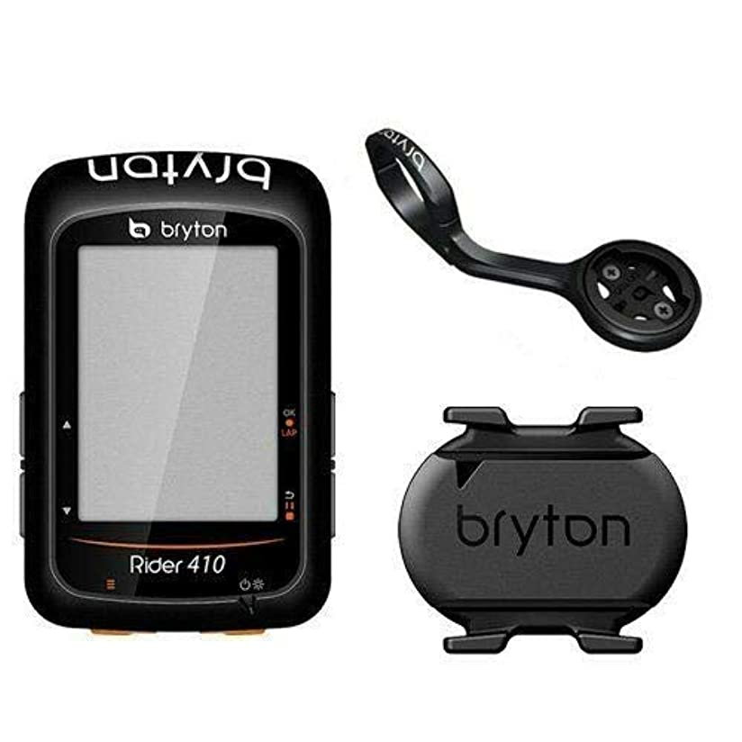 価格キャンディー通訳Bryton Rider 410C GPS ANT+/ BLE Cycling Computer/Cadence Sensor&Extension Mount #TB2779-self