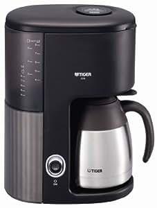 TIGER コーヒーメーカー 真空ステンレスサーバータイプ カフェブラック8杯用 ACW-S080-KQ