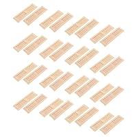 DYNWAVE 32ピース/個ドールハウス、ルームボックス、ハウスモデルに最適なシャッターウィンドウモデル