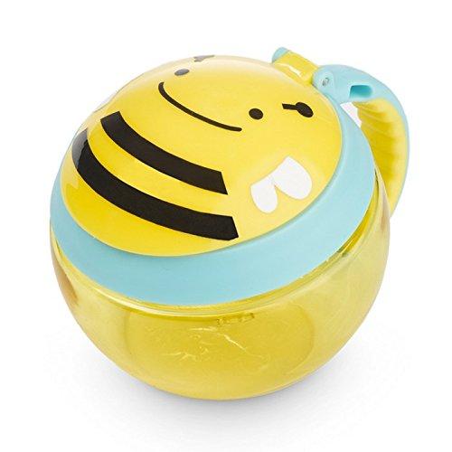 SKIP HOP 【お食事】【おやつ】アニマル・スナックカップ/ビー FDSH252554