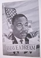 Martin Luther King – Giantポストカード – I Have A Dream