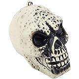 ハロウィーンの小道具 頭蓋骨 ゴーストヘッド 面白い ホラーおもちゃ (S)