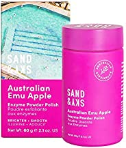 Sand & Sky Australian Emu Apple Enzyme Powder Polish Face Peel. Enzyme Exfoliator, Facial Cleanser and Exf