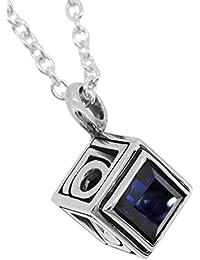 [エムズコレクション] M's collection オーパーツキューブ シルバー ネックレス X0212