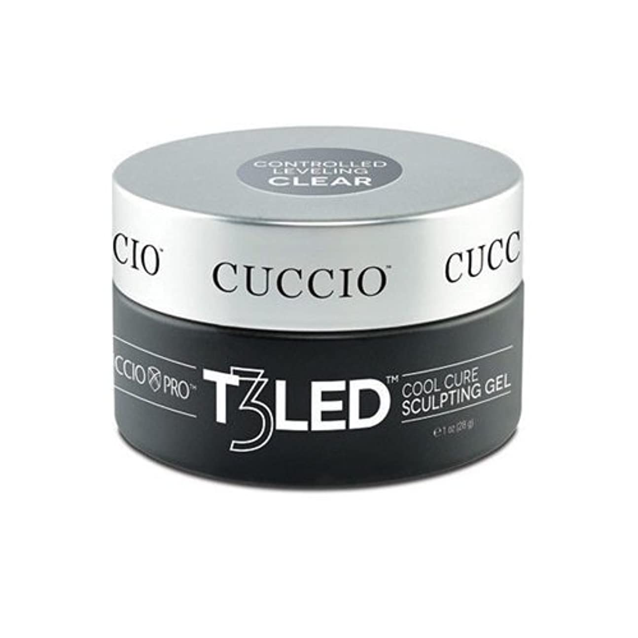憂慮すべき確かに序文Cuccio Pro - T3 LED/UV Controlled Leveling Gel - Clear - 2oz / 56g