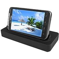 Seidioデスクトップ充電クレードルfor HTC Thunderbolt – 小売パッケージ – ブラック