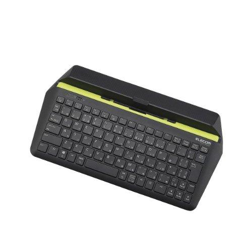 エレコム ワイヤレスキーボード BluetoothキーボードTK-FBP067BK