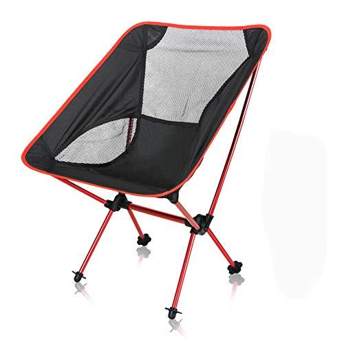 【アウトドアチェア・キャンプ用品】Linkax コンパクトチェア アルミ合金&軽量 専用ケース付き ( 折りたたみ椅子)