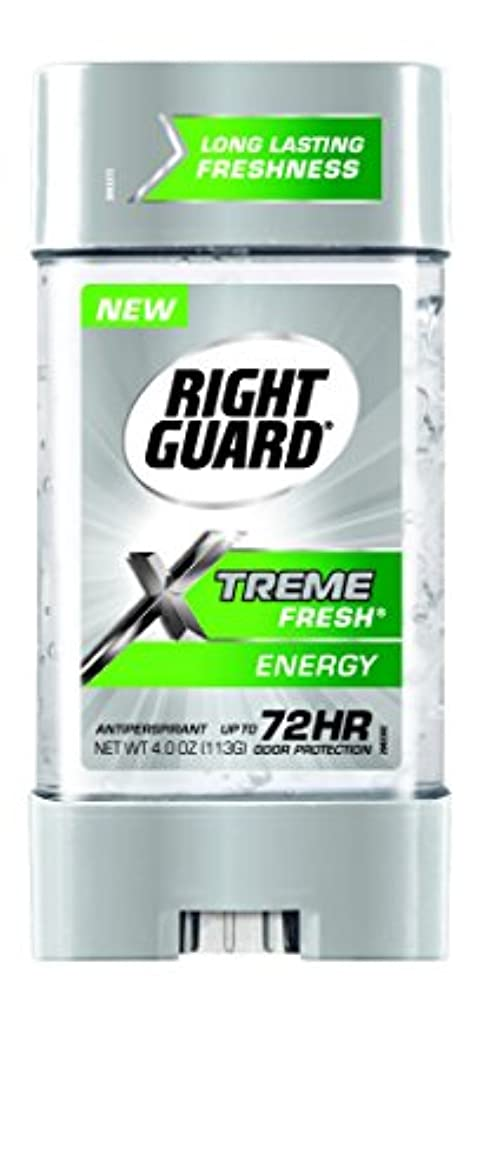周辺特異な理解Right Guard Xtreme Fresh Invisible Gel Antiperspirant & Deodorant Energy(並行輸入品)