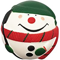 Slow Rising Claus香りつきDecompression Kawaii Snow Manシミュレーション玩具、Squishyチャーム7 cm Stress Reliefおもちゃ/コレクション/携帯ストラップ