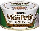 Nestle Japan PURINA MonPetit ピュリナ モンプチゴールド 極上かつお 80gの画像