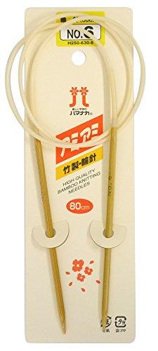ハマナカ アミアミ 輪針 長さ80cm 6号H250-630-6