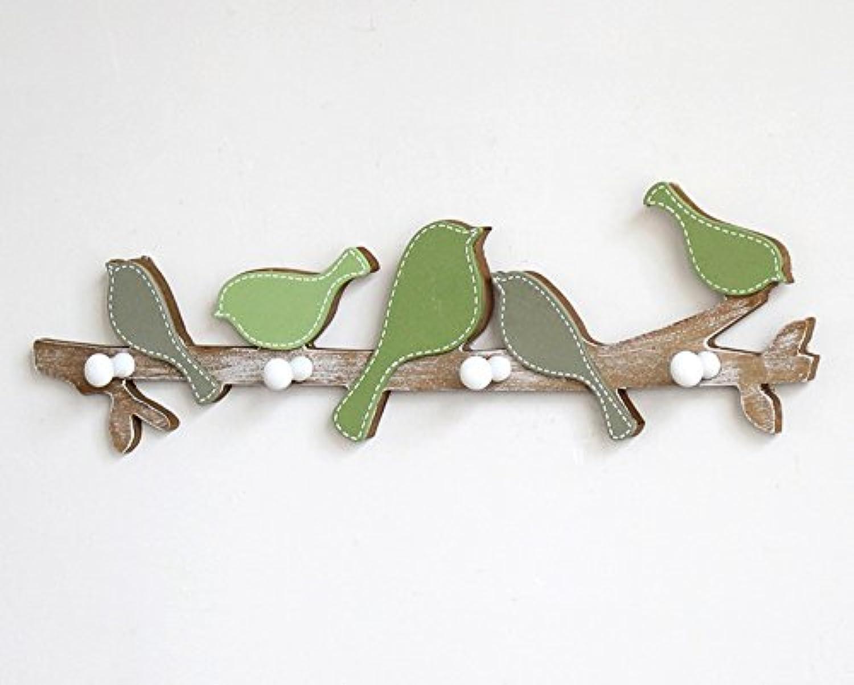 アメリカの鳥のコートフック、入り口ポーチフィッティングルームフック、ウォールキーホルダー、コートフック ( 色 : B )