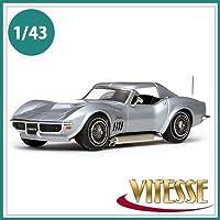 VITESSE ビテス ミニカー 36246 コルベット クーペ 1969 コルテスシルバー 1/43