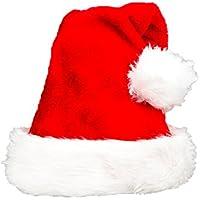 Life Connection サンタ帽子 大きめ クリスマス 髪型崩れない 小顔 コスプレ 変装 パーティー 大人用 男女兼用 (フリーサイズ)