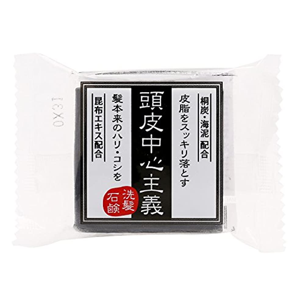 質素な作ります満たす菊星 頭皮中心主義 洗髪石鹸 30g
