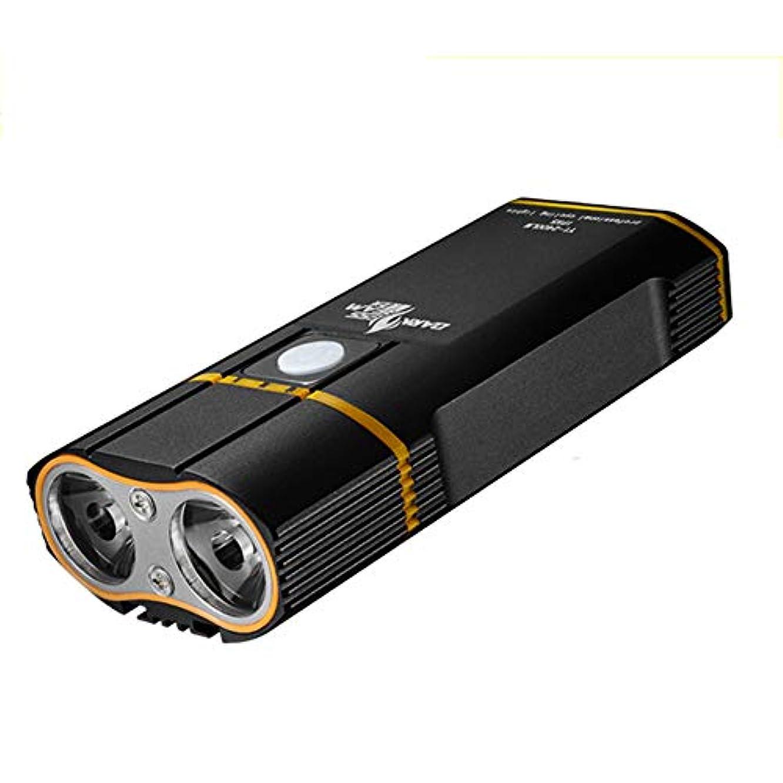 保持する乳白色聞く自転車ライト、ナイトライド自転車ヘッドライトグレアは、USB道路マウンテンバイクのアクセサリーを充電することができます、防水自転車のヘッドライト YZRCRK