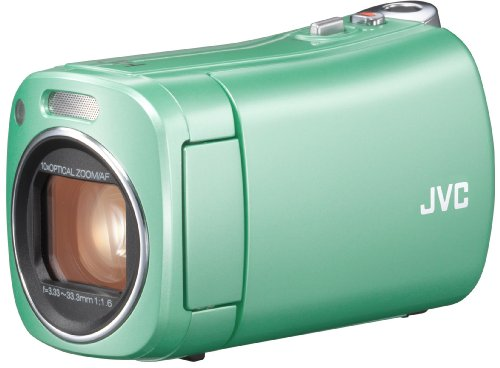 JVCKENWOOD JVC ビデオカメラ BabyMovie 内蔵メモリー8GB グリーン GZ-N1-G