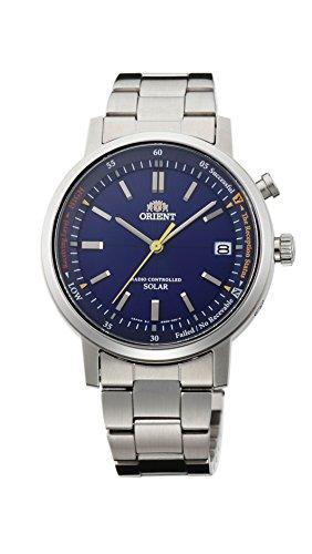 [オリエント]ORIENT 腕時計 STYLISH AND SMART スタイリッシュ アンド スマート ソーラー電波 WV0111SE ブルー WV0111SE