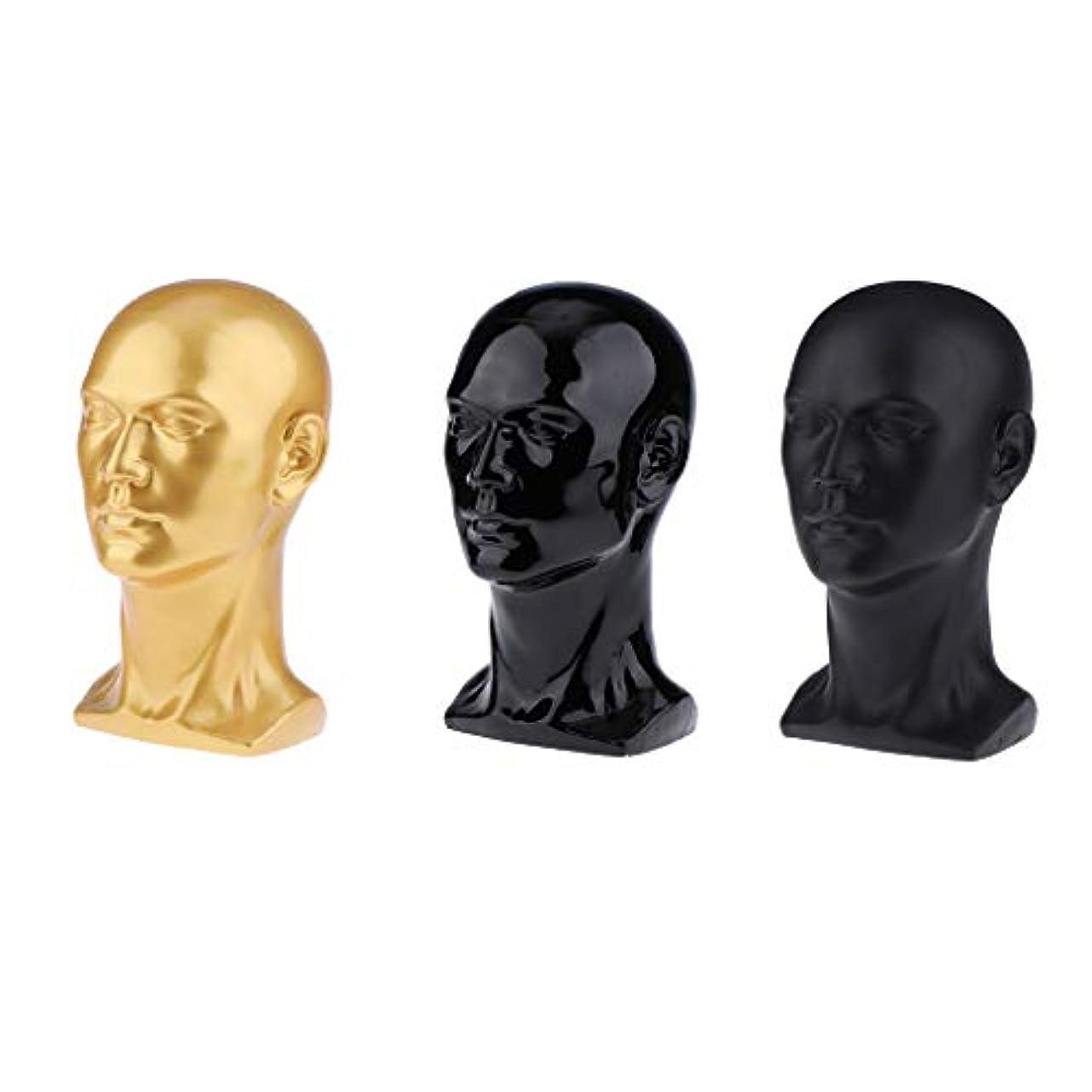 苦情文句夢中窓DYNWAVE マネキンヘッド 男性 頭部モデル かつら 帽子 スカーフ ヘアバンド 作成 ディスプレイ
