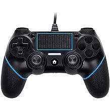 scorel PS4 コントローラー USB2.0接続 バージョン5.52対応 加速度/振動/重力感応/6軸機能 日本取扱説明書付き