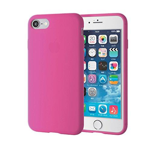 エレコム iPhone7ケース / アイフォン7 シリコンケース シリコンケース ピンク PM-A16MSCPN