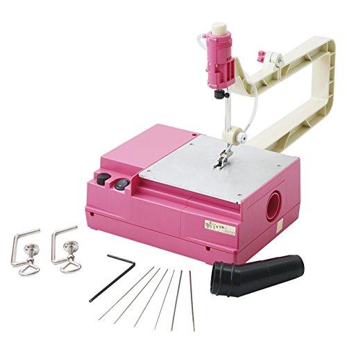 小型卓上糸のこ盤『SAWing Machine』 DIY女子部モデル No.27088-JO