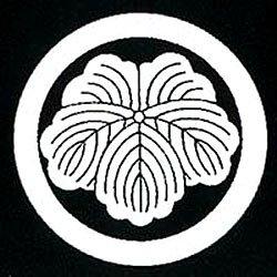 家紋シール 張り紋 黒紋付用 日向紋 3.9cm 6枚組 丸に蔦