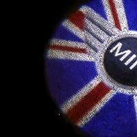 すべてのBMWのミニモデルに適した車のドアウェルカムライトLEDムードプロジェクターオートロゴカーアクセサリー nyfcc (Color : Color9)